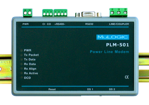 Power line modem for industrial applications PLM-501